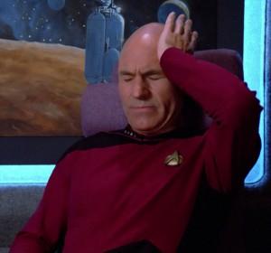Headache sir patrick stewart
